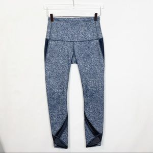 Lululemon Speckled Pace Rival Mesh Crop 8